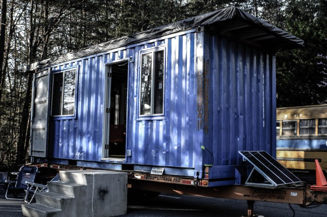 D.I. von Briesen's Eco Box. A shipping container home.