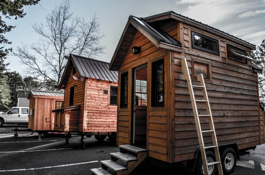 "Tiny Home Builders/Dan Louche's ""Tinier Living"" model."
