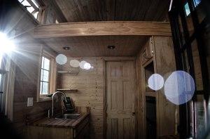 "Tiny Home Builders/Dan Louche's ""Tinier Living"" model."