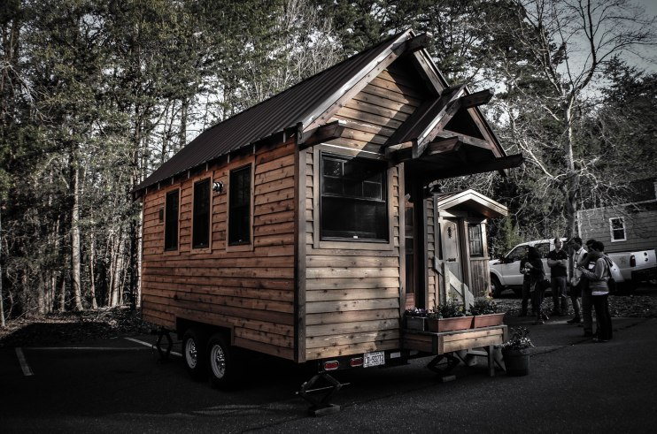 Tiny house built by Wishbone Tiny Homes