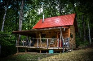 Christy & Ricardo's tiny house on a foundation