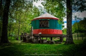Yurt on Riverstone Organic Farm