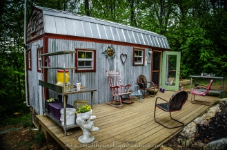 The Berzins' tiny house